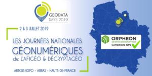 Nous serons présents aux GEODATA Days 2019