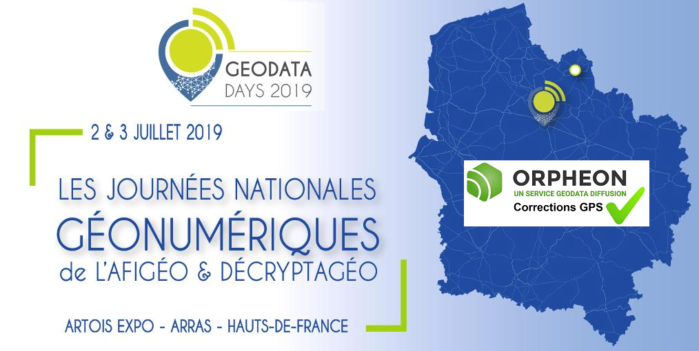 We will be present at GEODATA Days 2019