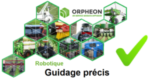 Orphéon : guidage précis des robots de travail
