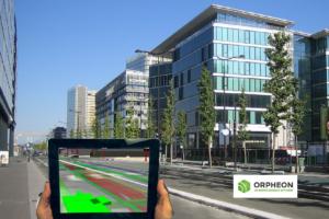 Avec Orphéon la réalité augmentée sur le terrain gagne en précision.