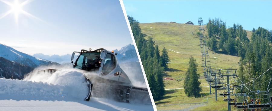 Gestion des pistes de Ski et zones montagneuses