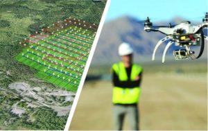 Photogrammétrie centimétrique par drone et GPS