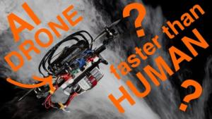 Drone : l'IA plus rapide que les pilotes humains