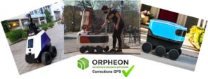 Robots de livraison ou de surveillance , le besoin de précision