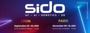 Nous serons présents au SIDO à Paris – L'événement leader IOT, IA et Robotique en Europe